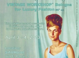 Vintage Workshop Aprile 2013