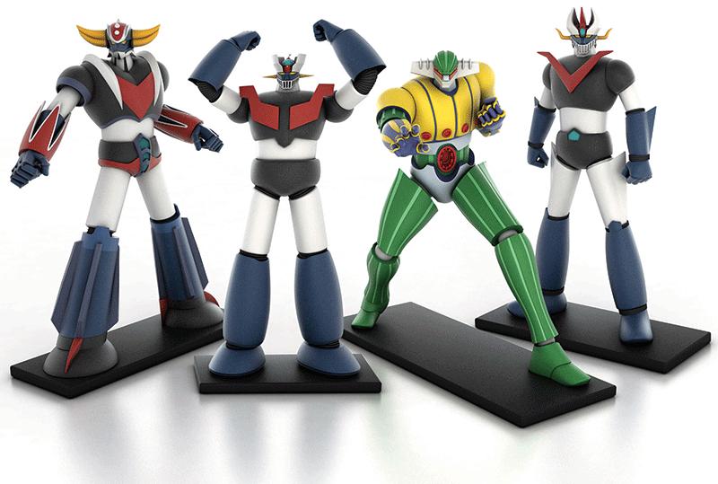 go-nagai-collezione-robot-anni-70-80