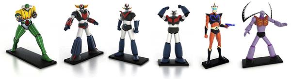 go-nagai-primi-modelli-robot